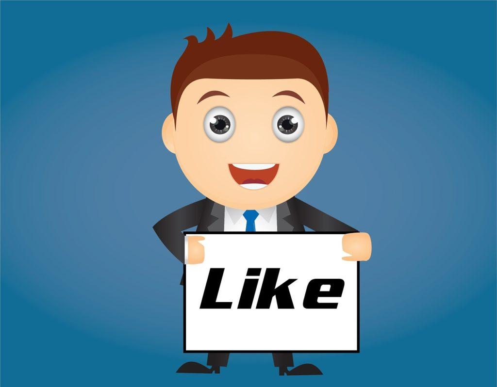 zdobywanie polubien na facebooku