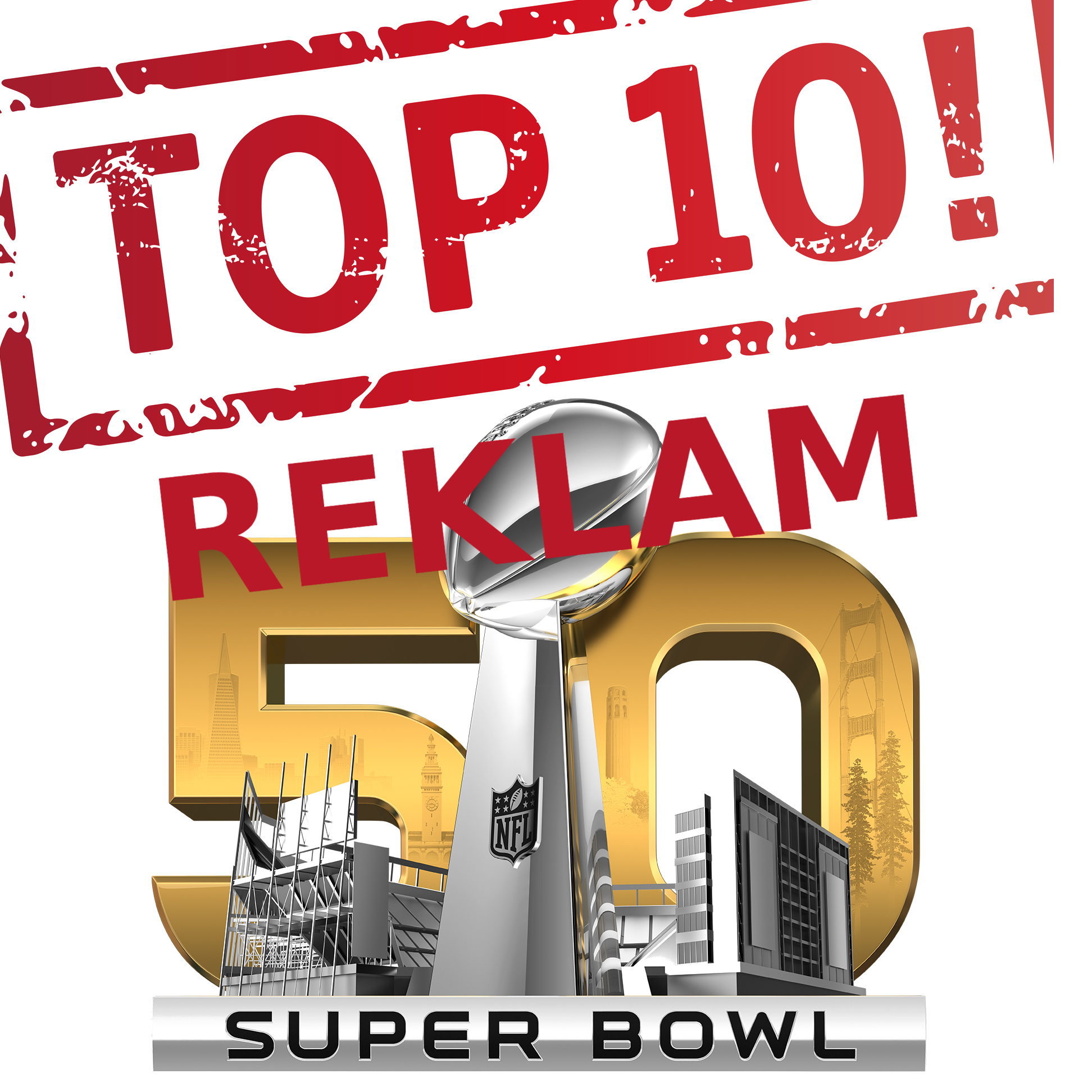 TOP10 reklam Super Bowl 2016