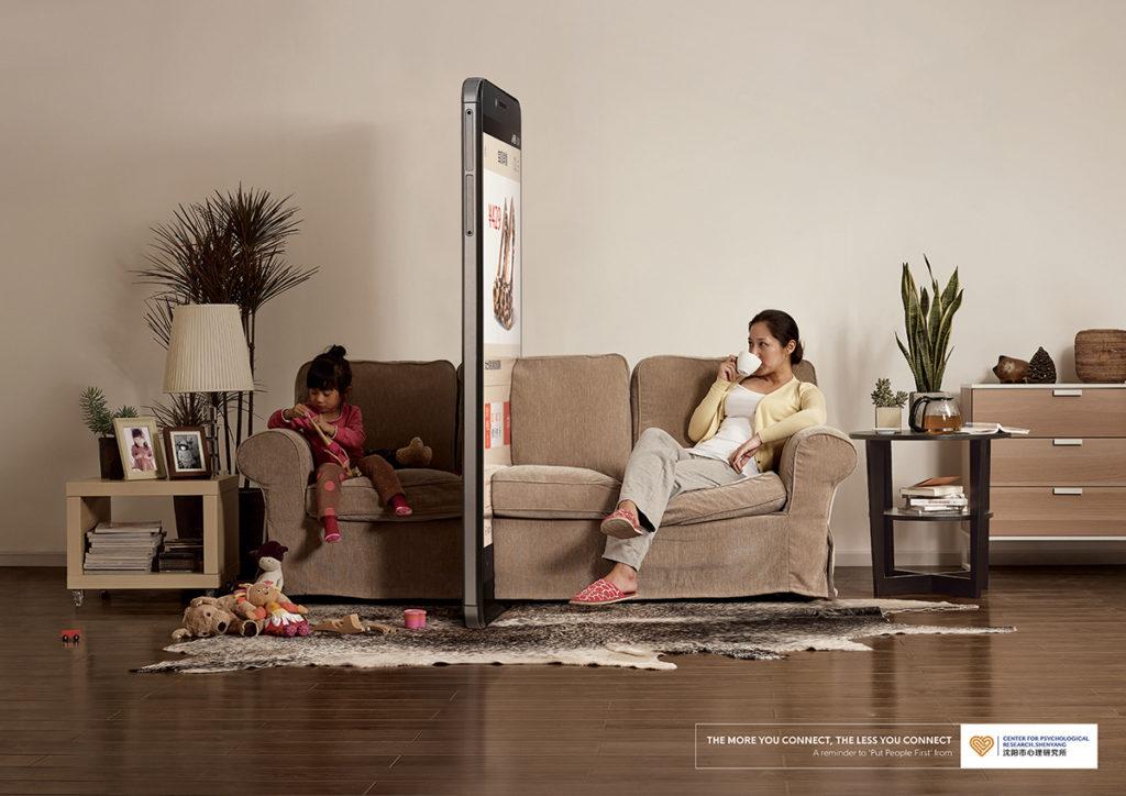 smartfon ściana przeszkadza w życiu
