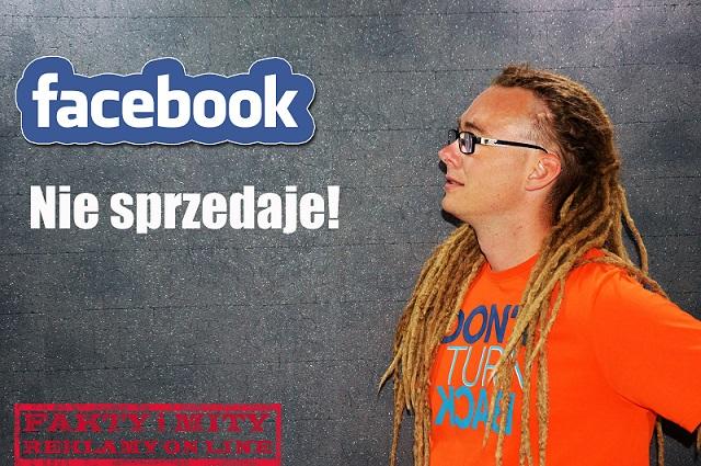 Dlaczego Facebook nie sprzedaje?(WIDEO)