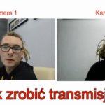 Jak zrobić transmisję na żywo na Facebooku przy użyciu laptopa i dwóch kamer.