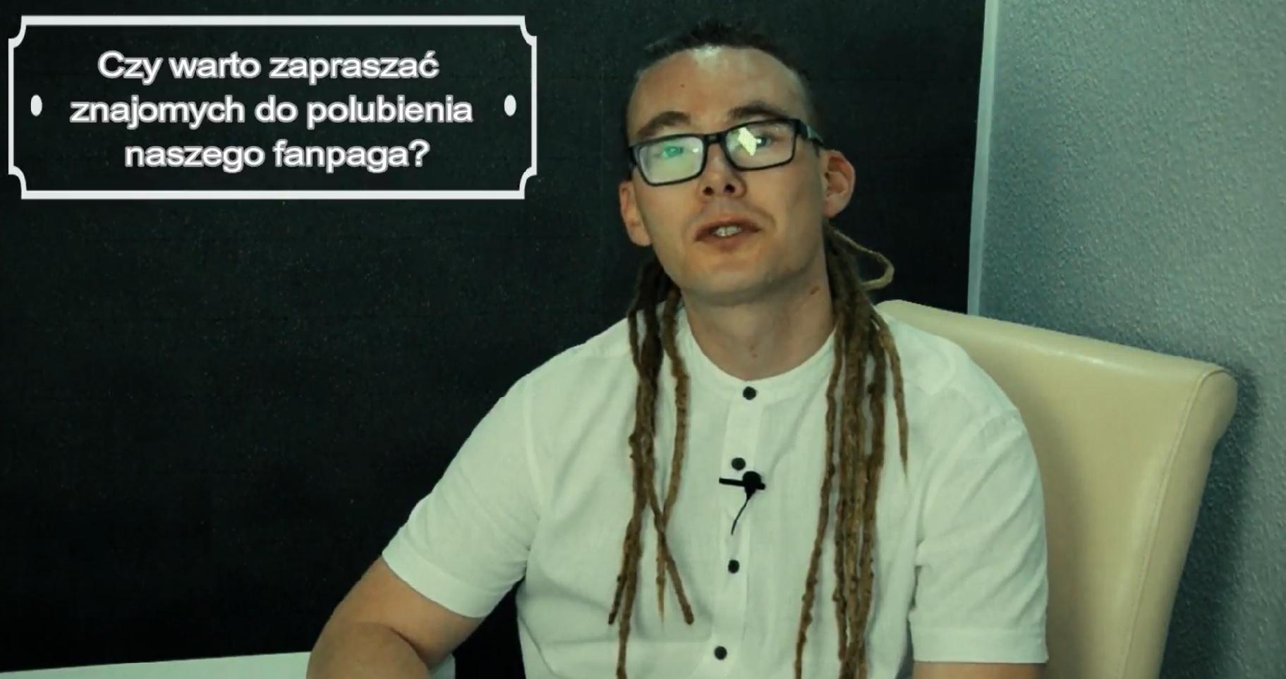 Czy warto zapraszać znajomych do polubienia nasze fanpaga?(VIDEO)