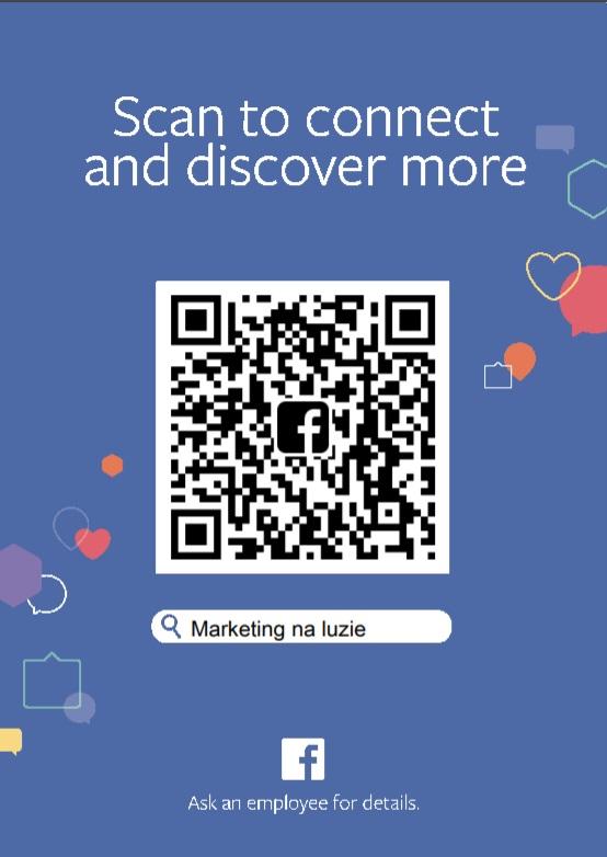 Kody QR na Facebooku – sprawdź czy masz