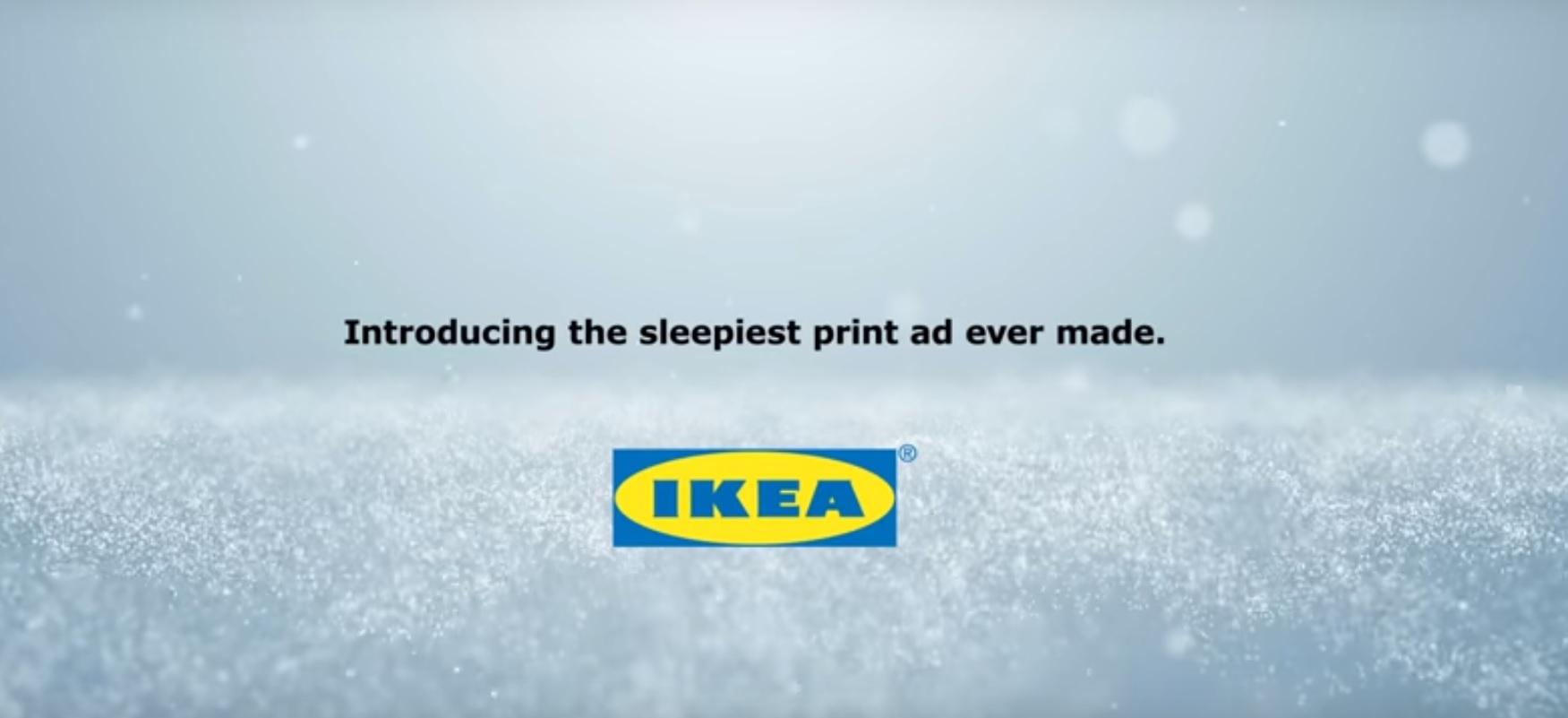 IKEA pokazuje, że reklama prasowa może być jeszcze kreatywna