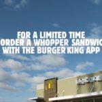 Whooper od Burger Kinga za 1 centa, tylko gdy kupisz go w McDonald`s?