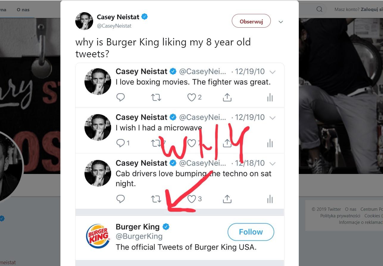 Burger King pograł z Influencerami i zrobił za ich pomocą darmową reklamę na Tweeterze