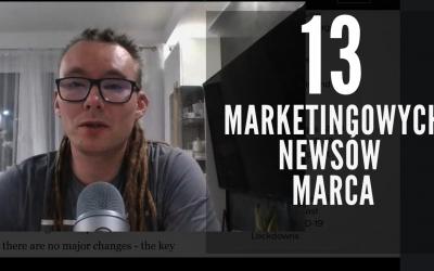 13 najciekawszych marketingowych nowości Marca w pigułce