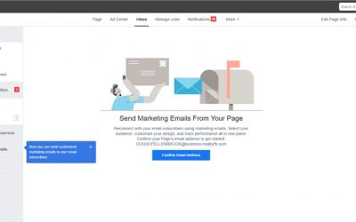 Mailing wysyłany prosto z Facebooka?