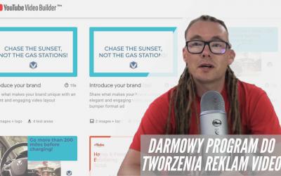 Youtube video builder – darmowy program do tworzenia reklam video